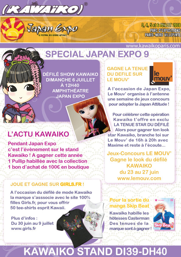Kawaiko � Japan Expo 2008
